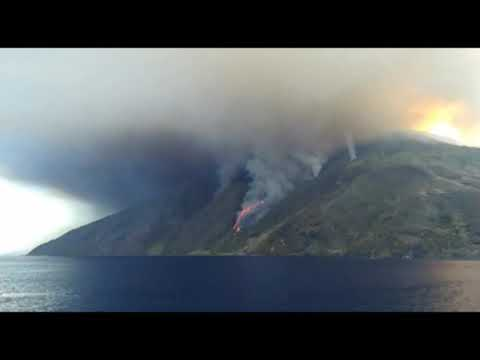 Weitere Explosion am Stromboli
