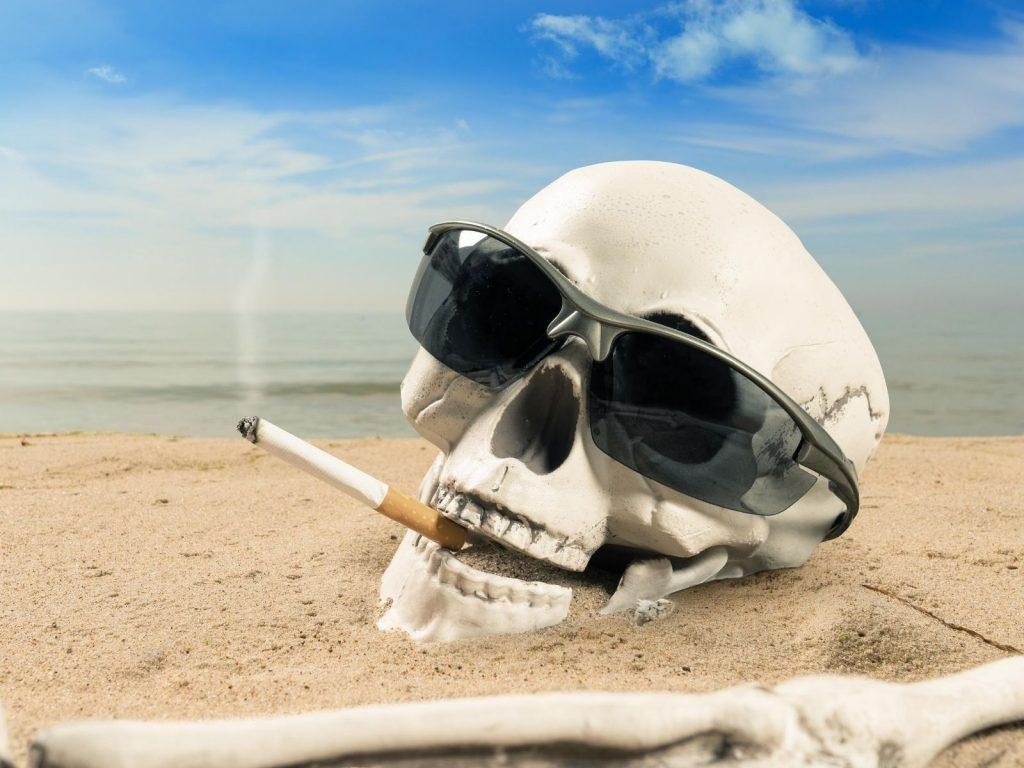 Rauchverbot an den Stränden der Gemeinde Noto