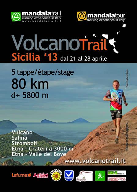 Anmeldung zum Lafuma Volcano Trail 2013 entlang der aktiven sizilianischen Vulkane