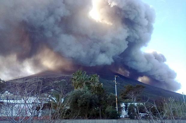 Zustand des Vulkans Stromboli bereitet Experten sorgen